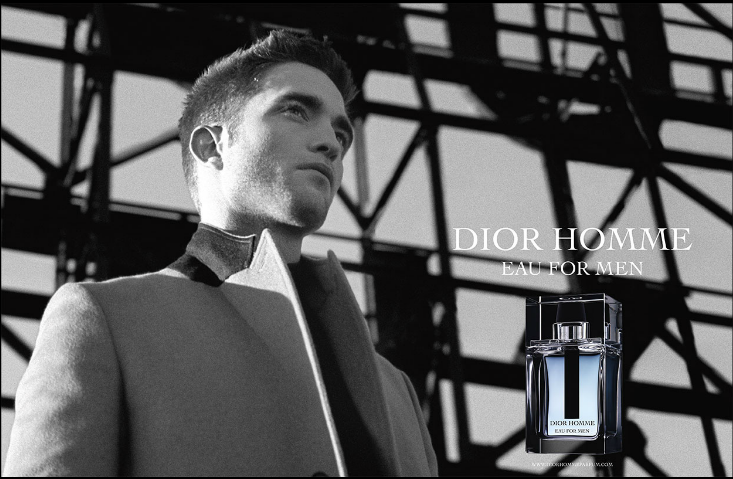 реклама парфюма Dior Homme Eau for Men